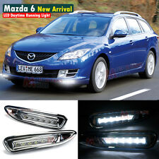 LED Daytime Running Light For Mazda 6 Atenza DRL 2007 2008 2009 2010 2011 2012