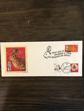1999 China Usa Dual Collection Cover Fdc Chinese New Year Rabbit 1999