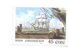 Ireland-Emigration-Sailing Ship mnh
