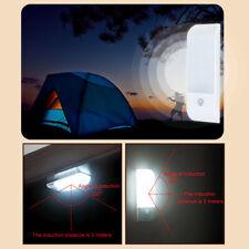 PIR Motion Sensor LED Night Light Cabinet Closet Living Room Lamp Rechargeable