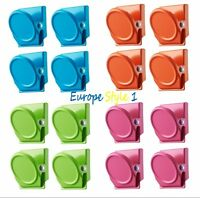 ~~ NEW IKEA OLEBY 4 PACK CLIP WITH MAGNET~~