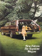 Ford Falcon & Fairmont Wagon XA 1972-73 UK & Australian Market Sales Brochure