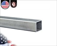 "5/8"" Galvanized Square Steel Tube - 16 gauge - 24"" inches long"