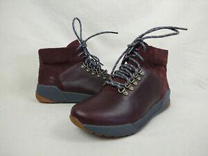 Timberland Kiri Up Burgundy Waterproof Leather Hiking Boots Women's Size 11 US