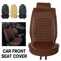1x Universal PU Leather Car Seat Waterproof Covers Breathable Auto Seat Cushion