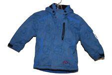 Marker Hooded Winter Jacket boys youth/toddler kids Sz 4 Blue/Grey/Black