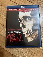 Evil Dead 2: Dead by Dawn 25th Anniversary Blu Ray- Includes Uhd Digital Copy