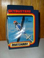 Matchbox 1991 Skybusters SB-33 Bell Jet Ranger NRFB