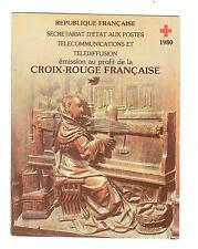 CARNET CROIX ROUGE 1980  NEUF ** SANS CHARNIERES