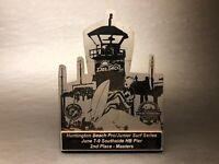 Vintage Surf Series HUNTINGTON BEACH Pro/Am 2nd Place Surfing Trophy- USA