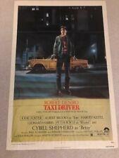Taxi Driver Original 27x41 Movie Poster with Robert DeNiro