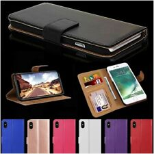 Case For iPhone 6s 7 8 11 12 Plus Pro Max Mini XR SE 2 Leather Flip Wallet Cover