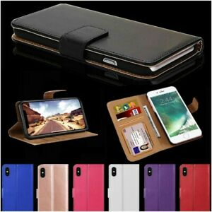 Case For iPhone 12 11 8 7 6 5s Plus Pro MAX XR Luxury Leather Flip Wallet Cover