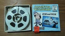 Vintage Cinta Pelicula Super 8mm. color Castle Films Inspector willoughby