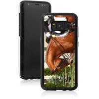 For Samsung S8 S9 S10 + Note 8 9 Shockproof Hard Soft Case 1518 Dressage Horse