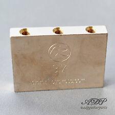 BLOC BARILLET FLOYD ROSE SCHALLER NICKEL BRASS TREMOLO BLOC 37mm 1802140137