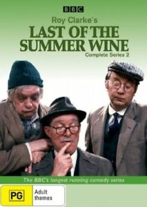 Last Of The Summer Wine :Series 2(DVD, 2006, 2-Disc Set) Sent With Tracking. N01