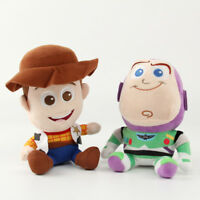 NEW Toy Story Plush Toys Woody And Buzz Lightyear Plush Doll AU stock 1 2 3 Gift