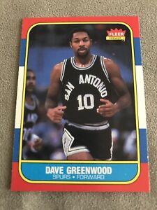 1986-87 FLEER DAVE GREENWOOD #41