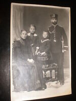 Old photograph soldier and family by Heinemann Weinbohla Germany c1914