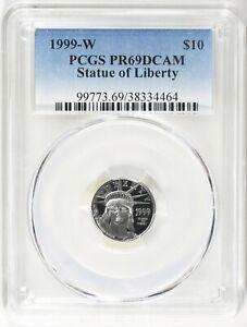1999-W $10 Tenth-Ounce Platinum American Eagle PCGS Proof-69 DCAM