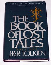 Tolkien: History of Middle-Earth Book of Lost Tales Pt. 1: First US edn & printg