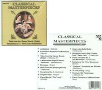 Classical Masterpieces - Music CD -  -   -  - Very Good - Audio CD -  Disc  - bP