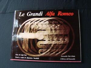 Le Grandi Alfa Romeo book