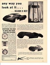 1960 KELLISON SPORTS CAR / KIT CAR  ~   ORIGINAL PRINT AD