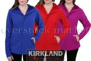 NEW WOMENS KIRKLAND SIGNATURE WATER REPELLENT 4WAY STRETCH HOODED JACKET VARIETY