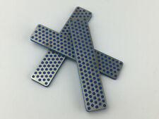 One (1) DMT Diamond Stone, 110 mm, Blue 325 Grit