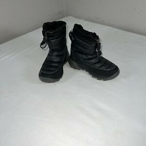 Toddler The North Face Snow Boots Black Gray Size 10c
