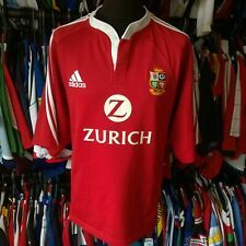 BRITISH LIONS 2005 HOME UNION RUGBY SHIRT ADIDAS JERSEY SIZE ADULT XL
