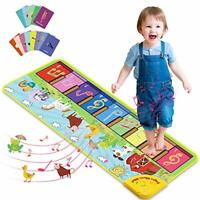Joyjoz Kids Piano Mat with 25 Sounds, Music Dance Mat for Toddlers, Childrens