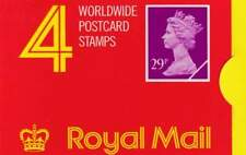Engeland booklet GG1 MNH 1989 - 4x29 pence