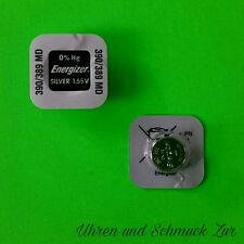 Cell sr1130sw sr1130w ag10 Silver 1,55 1x Energizer 390/389 Watch Battery Button