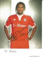 FC Bayern München Autogrammkarte Breno