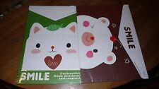 2 X New Stationery  A4 Cute Paper Envelope Folders