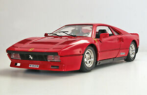 1:16 Polistil (Red) 1984 Ferrari 288 GTO Super Coupe Die Cast-Made in Italy