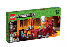 NEW Lego Set MINECRAFT 21122 The Nether Fortress 571 Pc Ages 8+ SEALED BRAND New
