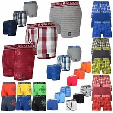 Men Crosshatch Boxers 3 or 2 Pack Shorts Underwear Trunks Multipack Set 2018