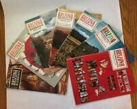 LOT of 7 Vintage Arizona Highways Mags  1957, 1959, 1960, 1966, 1967, 1969, 1970