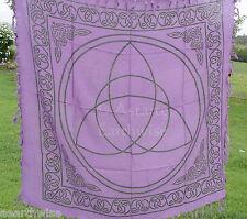 TRIQUETRA ALTAR TAROT CLOTH SCARF 914 x 914 mm  Wicca Pagan Witch Goddess