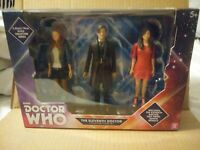 Doctor Dr Who Eleventh Doctor Collectors Set. 3 Pack Clara Amy B&M Exclusive NIB