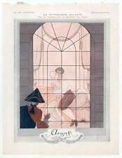 """Art Deco-Erotik-Argus aus """"LA VIE PARISIENNE"""" 1925 nach Georges Barbier"""