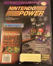 NINTENDO POWER MAGAZINE VOLUME 82 MARCH 1996 - MORTAL KOMBAT 3 CARDS & POSTER