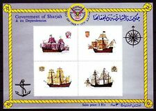 Sharjah 1969 ** bl.57 barcos boats bateaux