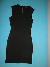 vestito Tubino nero Tg 40 IT, UK 8, stretch, elasticizzato - little black dress