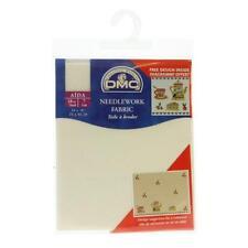 DMC Dc37/10 | 18 Count Aida Cloth 35 X 45cm Cross Stitch Ecru