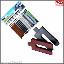 BGS - Plastic Chocks Wedges, Spacers - 24 Pcs, 1 - 6 mm x 4 Ea - 80724